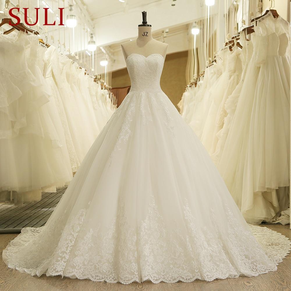HW091 Charming Sweetheart Applique Lace Vintage Bridal Wedding Dress Princess Wedding Dresses Turkey