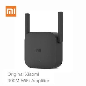 Image 1 - Originale Xiaomi Router WiFi Pro 300 M Amplificatore di Rete Expander Ripetitore 2.4G Wifi Segnale Extender Roteador Antenna del Router Wi Fi