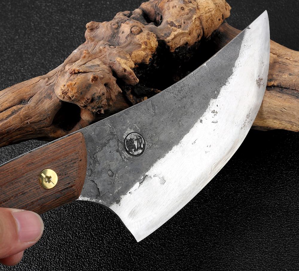 XITUO Hand Werkzeug Metzger Messer handgemachte Hohe Mangan Stahl Verkleidet Stahl cutter Kitchenchef & Camping Jagd messer Hacken Messer-in Küchenmesser aus Heim und Garten bei  Gruppe 2