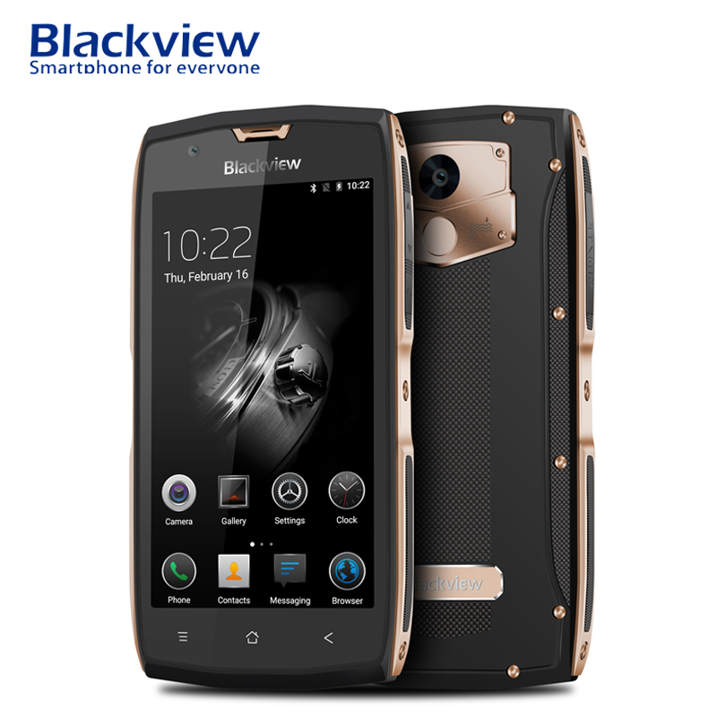 Blackview BV7000 Pro IP68 Smartphone 4 GB RAM 64 GB ROM Android 7.0 Octa Core 5 pouces 4G LTE étanche téléphone portable 13MP téléphone portable