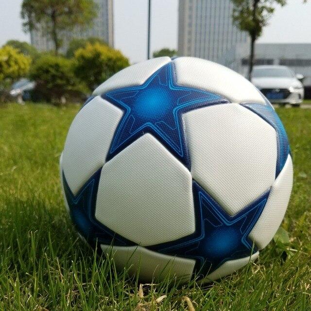 Material PU de alta Qualidade Da Liga Dos Campeões De Futebol Oficial Bola  Competição Profissional Trem 506122d2dea8a