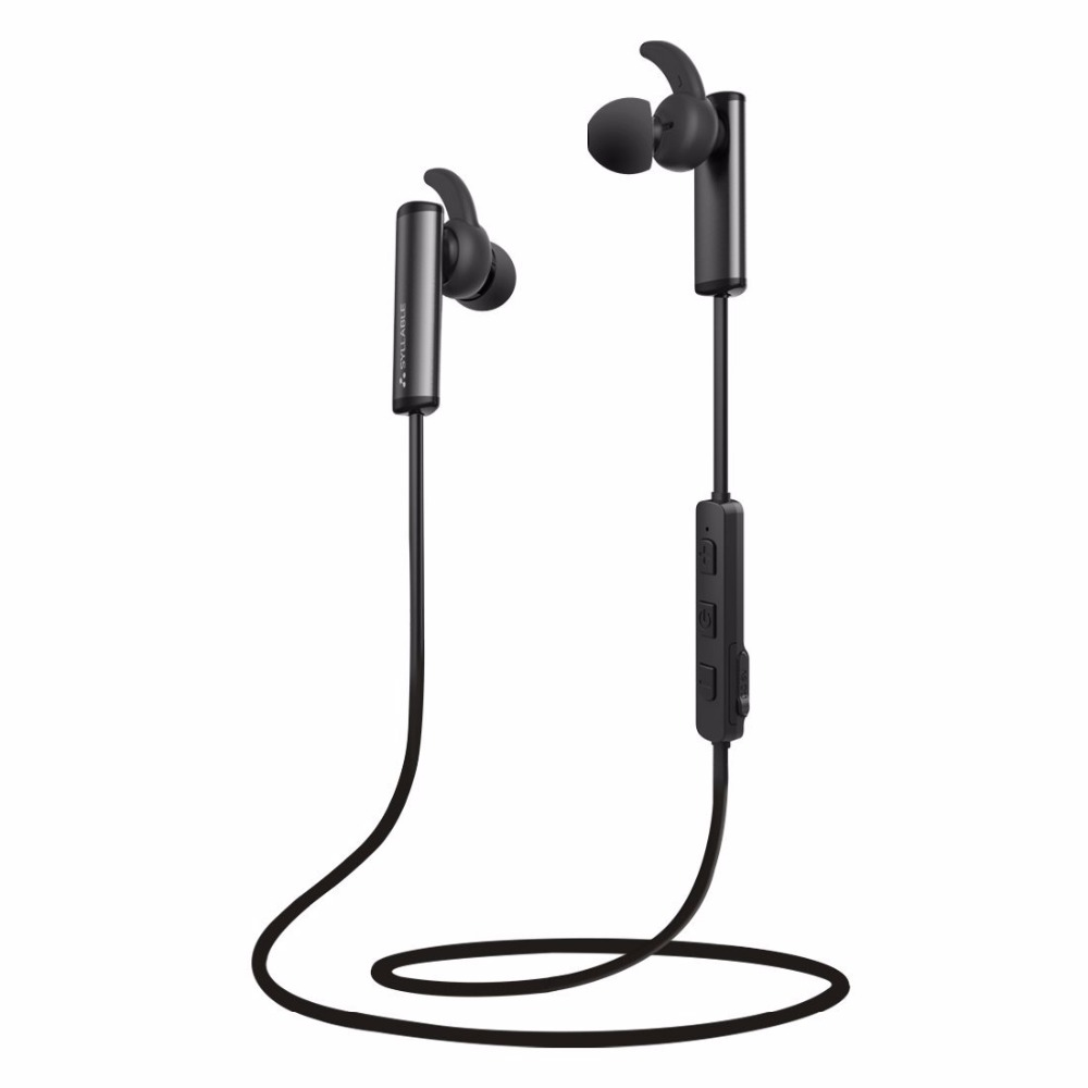 Moveski Wireless Sports Earphones Built-in Mic Bluetooth 4.2 Earbuds Headsets Secure Fit for Sports Gym Running Workout neckband stereo magnetic earbuds bluetooth wireless headset for outdoor sports running gym with built in mic
