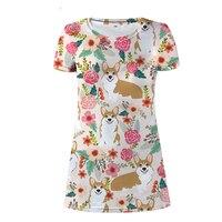 NoisyDesigns Corgi Kawaii Dress UK Clothing Dresses for Women Summer Dress 2018 Floral Designer Short Sleeve Pink Beach Sundress