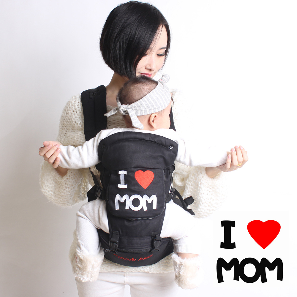 Holding Baby Small Stool Stool Infant Waist Cotton Four Seasons Multi-function Waist Waist Stool Stool Shoulder Straps Cotton baby carrier children waist stools hipseat backpacks for 4 36m baby infant toddler kids four seasons autumn shoulder straps
