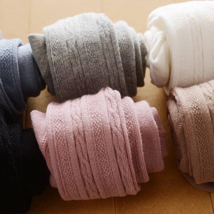 2018 infantil do bebê menina collants meia-calça da criança pp calças justas meninas calças newborn bebe roupa branca rosa preto cinza khaki atacado