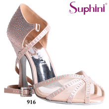Free Shipping Top Sale Latin Dance Shoes, Rhinestone Dance Shoe, Popular Dance Woman Salsa Shoes