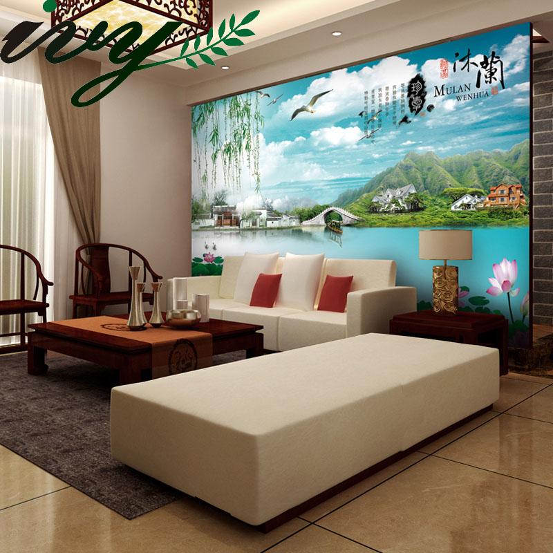 lujo d habitacin grandes murales wallpaper para paredes de pvc papel de la pared para
