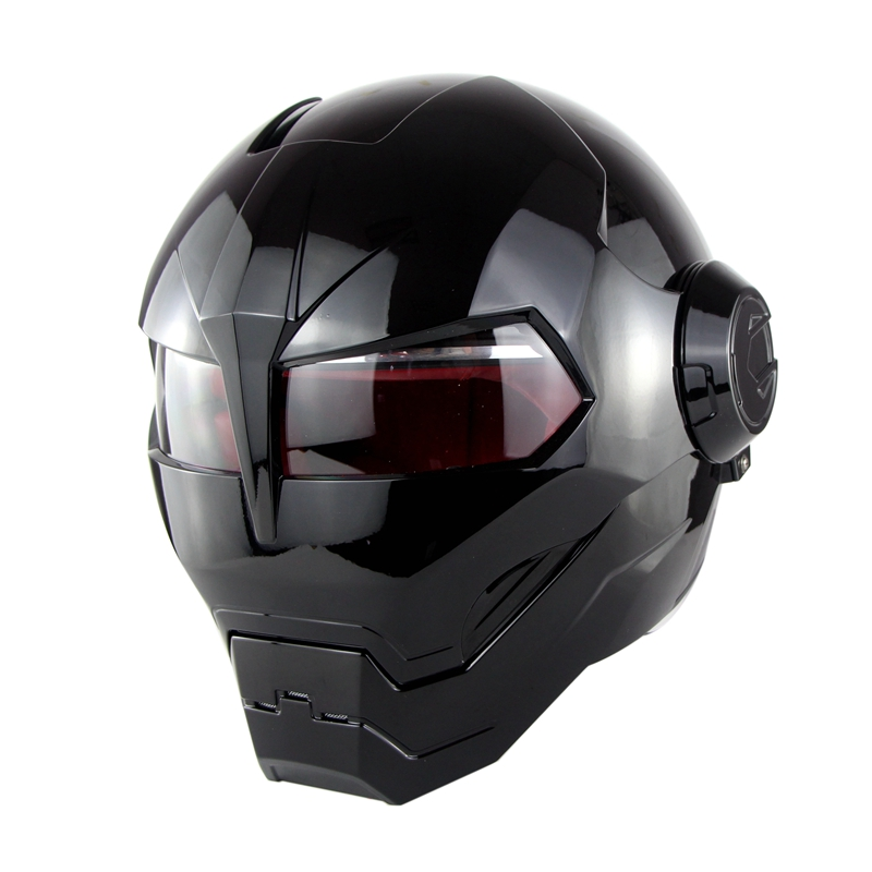2018 Super personality motorcycle helmet soman515 iron man full helmet retro style Harley Transformers unveiled helmet blythe gifford innocence unveiled