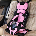 Nova Chegada Almofada Do Assento de Carro Infantil, Crianças Bebê Crianças de Segurança Infantil Assento de Carro Do Impulsionador Do Carro Confortável, Cor de Rosa, laranja, Rosa Vermelha