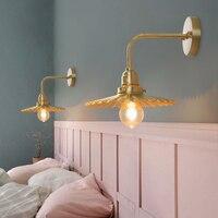 EL Brass copper classic lamp Vintage Industrial Wall Sconce Lights Retro Wall Lamp 110V 220V