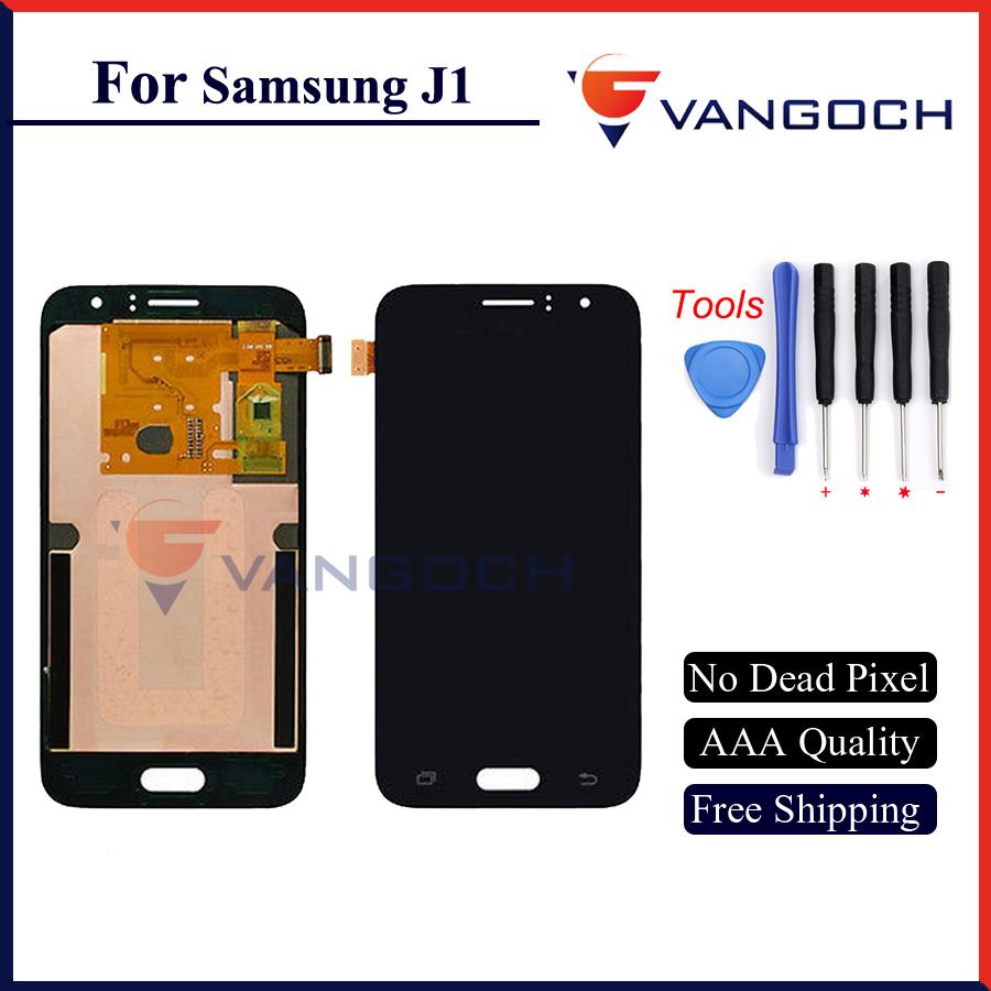 Prix pour 2016 Nouveau LCD pour Samsung Galaxy J1 J100 J110 Ace J120 2016 Écran avec Écran Tactile Digitizer 1 pièce livraison gratuite