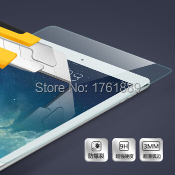 aliexpress pelicula de vidro 0 3mm HD 9H safety protective film front covering panel for ipad