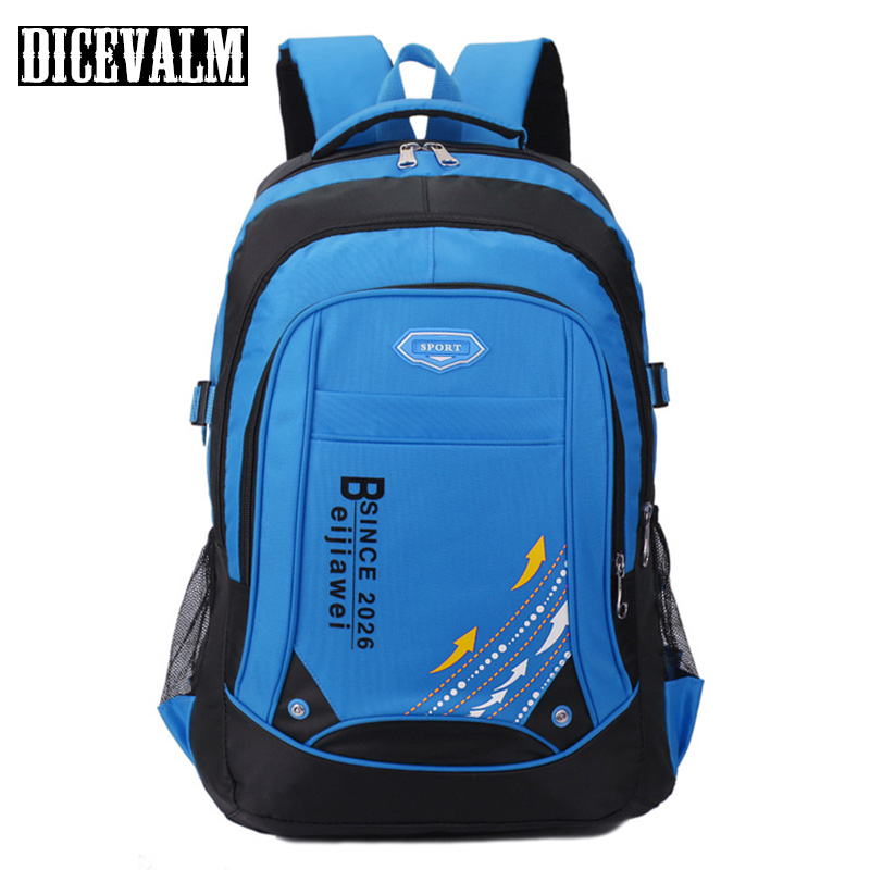 DICEVALM Waterproof Nylon ManS Backpack Female School Bags For Teenage Girls Korean Style Shoulder Bag Laptop Backpack Travel