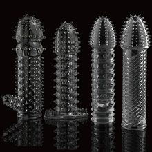 Reusable condom lube Textured Extender สกรูด้ายอวัยวะ(China)