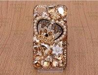 Crystal Golden Crown Diamond Clear Transparante cover luxe telefoon case voor galaxy s6 s8 S7 edge voor telefoon 8 plus