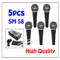 5pcs wholesale High quality SM 58LC Free shipping vocal Karaoke microfone dynamic wired handheld microphone SM 58