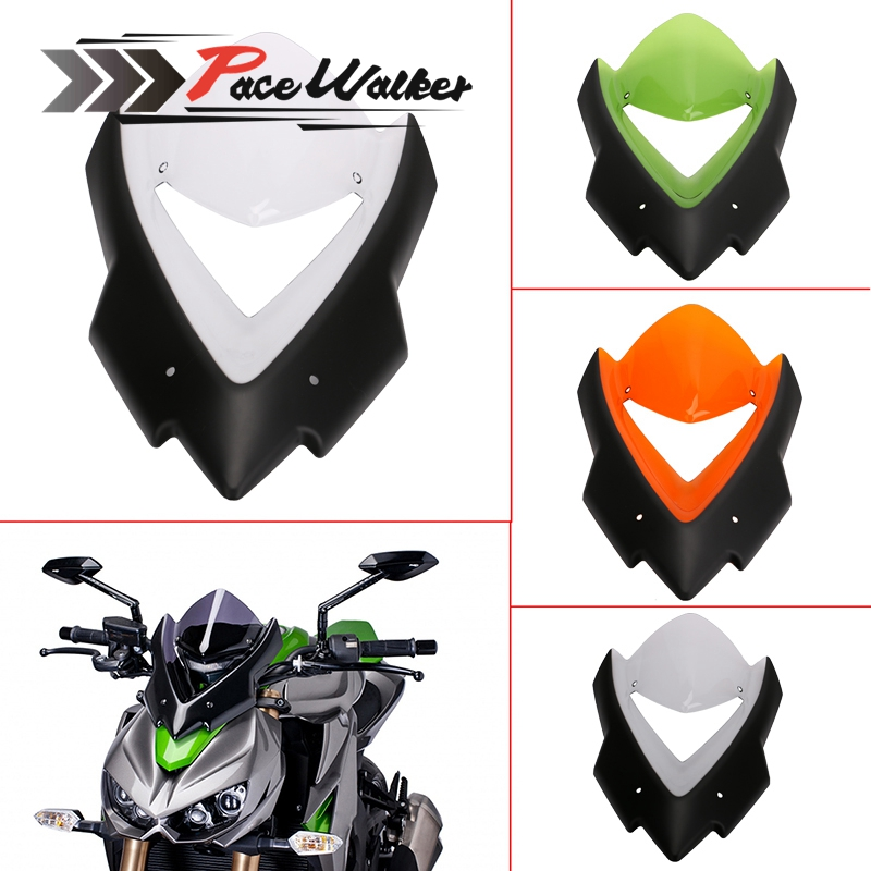 Motorcycle Windscreen Windshield Double Bubble Bicicleta For Kawasaki Z1000 2015 2016 Windscreen Motorcycle Accessories MTB