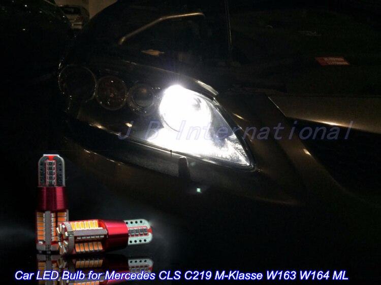2 шт. Х 6 Вт СИД Автомобиля Парковка/Положение лампы W5W Белый/Синий/Голубой Лед для Mercedes CLS C219 М-Класс W163 <font><b>W164</b></font> <font><b>ML</b></font>