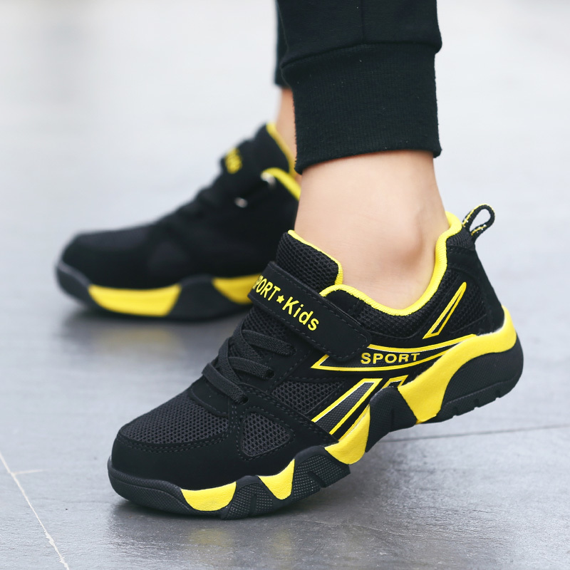 Mudipanda 4 Autumn 5 Boys Shoes 6 Breathable 7 Mesh Shoes 8 Big Children 9 Boys 10 Travel 12 Sports Shoes 15 Years Old Yellow