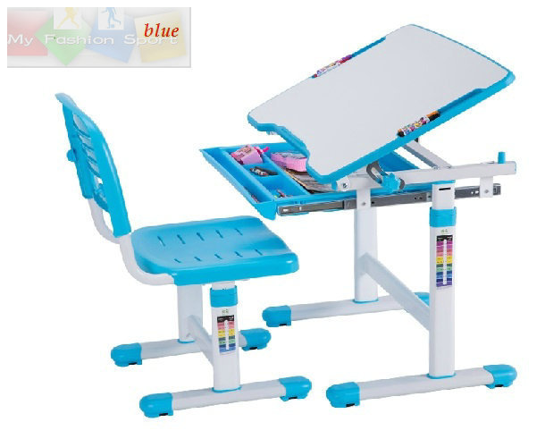 Kids Furniture Desk Children Learning Table Height Adjustable Desk And  Chair Set To Prevent Myopia Study