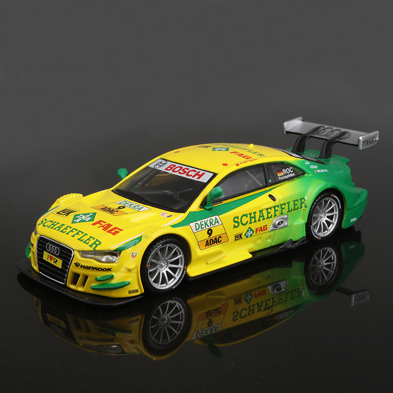 1:32 Diecast Model Car DTM AD A5 1:32 Metal Racing Vehicle Play Collectible Models Sport Cars toys For Gift