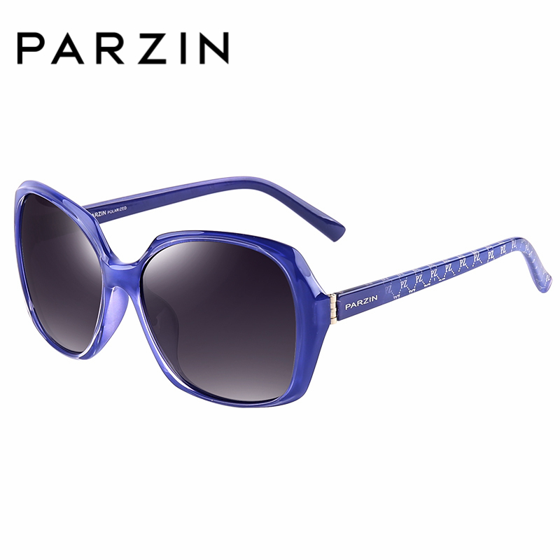 Großen Sonnenbrille Rahmen Frauen 9501 brown Red Oval black Für Gläser Mode Frame Marke Weibliche blau Echt Wine Frame Parzin Polarisierte Designer Qualität ExqptA