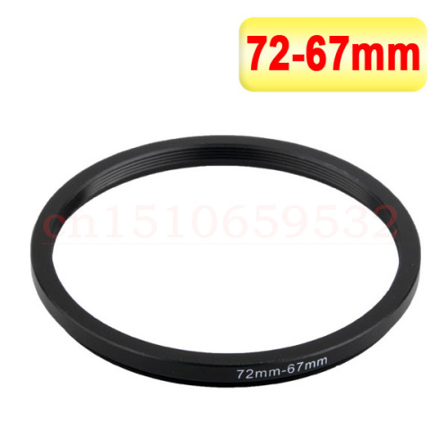With Tracking number 72-67MM 72MM - 67MM 72 to 67 Step up Down Filter Ring adapters , LENS, LENS hood, LENS CAP, and more...