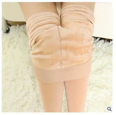 2018 new women pants Autumn and winter plus Thick warm high-quality thermal trousers 5006