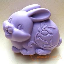 Силиконовые формы для мыла с кроликом, 3d формы для мыла S058