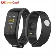 For Xiaomi Mi 8 pro 9 se 6 5 a1 a2 lite 5s plus pocophone F1 Waterproof Smart Watch Wristband Blood Pressure Heart Rate Tracker