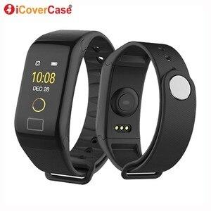Image 1 - For Xiaomi Mi 8 pro 9 se 6 5 a1 a2 lite 5s plus pocophone F1 Waterproof Smart Watch Wristband Blood Pressure Heart Rate Tracker