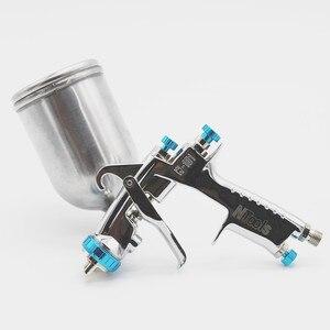 Image 2 - プラスチック/金属カップスプレーガンW 101 空気スプレー手動スプレーガン、 1.0/1.3/1.5/1.8 ミリメートル日本品質、W101 噴霧器エアスプレーガン