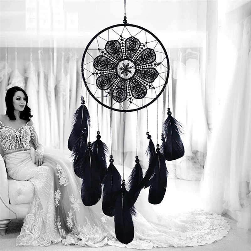 Indian Style Dreamcatcher Handmade Wind Chimes Hanging Pendant Dream Catcher Home Wall Art Hangings Decorations