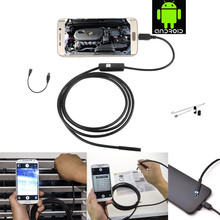 5.5mm Lens Mirco USB Android Endoscope Camera 1M Waterproof IP67 Snake Tube Pipe Android USB Borescope 720P Camera