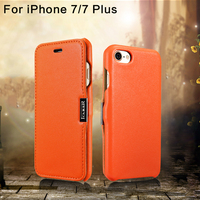 For Iphone7 Plus Case Top Design Genuine Leather Flip Case For Iphone 7 7 Plus Luxury