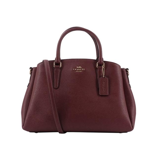 Coach Cross-grain Leather Sage Carry-all Bag