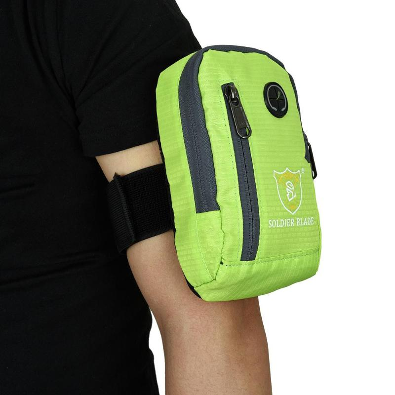 100% Wahr Outdoor-sportarten Laufen Jogging Gym Fall Reißverschluss Tasche Armband Workout Hülle Halter Für Handy Keine Kostenlosen Kosten Zu Irgendeinem Preis