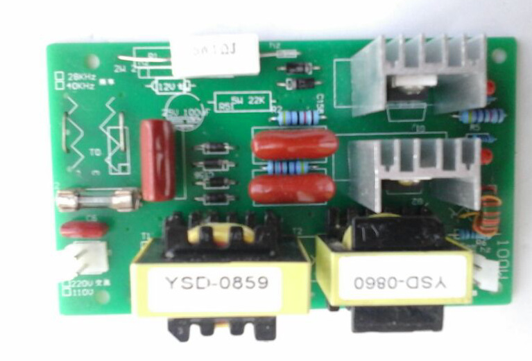 NEW 100W 40KHz Ultrasonic Cleaning Power Driver Board 220VAC