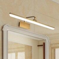 Modern Loft Decoration Bathroom Led Mirror Lamp Waterproof Bronze Bedside Lights Led Dressing Room Led Light L42/57/68CM