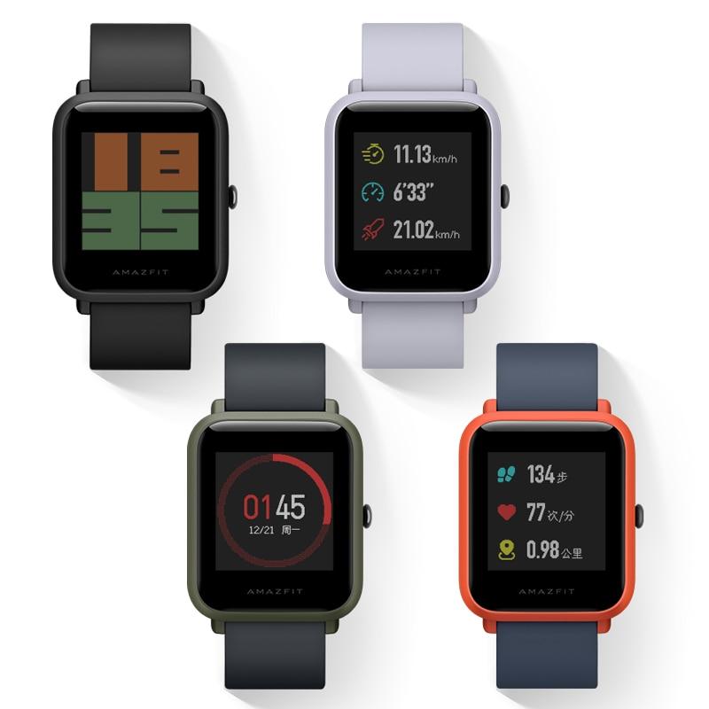 Somi For Xiaomi Huami Amazfit Bip Smart Horloge [engels Versie] Smartwatch Tempo Lite Bluetooth 4.0 GPS IP68 Új Sportóra
