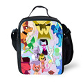 2017 New Design Steven Universe Garnet Pearl Amethyst lunch Bags for Kids Girls Children Lunchbox Bag Insulated Gift Bag