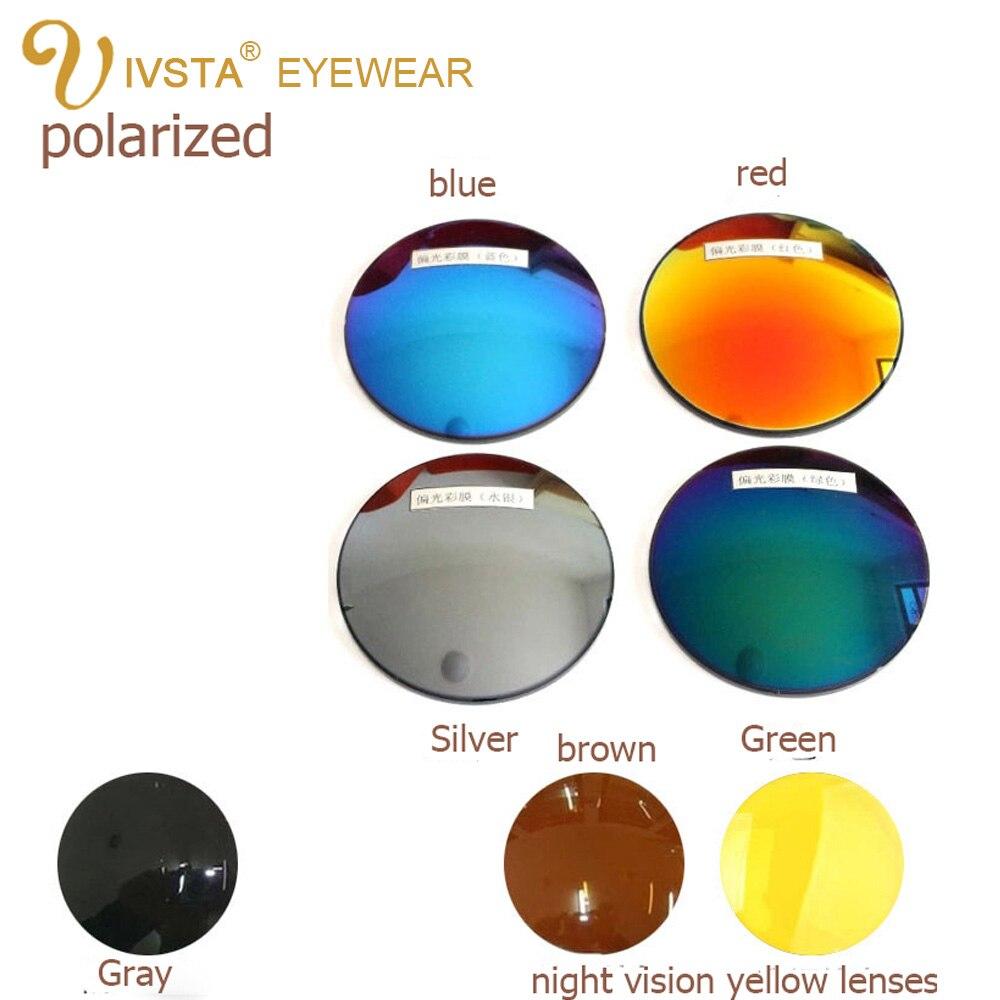 IVSTA lunettes de soleil polarisées myopie verres miroir optique Vision nocturne degré grade Prescription myope 1.56 1.67