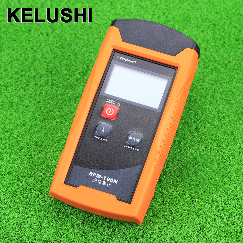 KELUSHI BPM-100 New Mini Optical Fiber Cable Tester Fiber optical power meter -70~+8dBm For FTTH TelecommunicationKELUSHI BPM-100 New Mini Optical Fiber Cable Tester Fiber optical power meter -70~+8dBm For FTTH Telecommunication