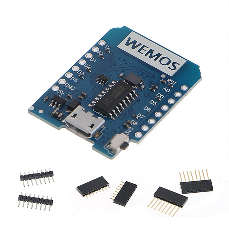 New 2017 for WEMOS D1 Mini V2.2.0 WIFI Internet Development Board ESP8266 4MB Flash  Hot Sale wemos d1 r2 v2 1 0 wifi uno based esp8266 for arduino nodemcu compatible au new