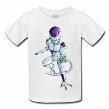 T-Shirt Enfant Freezer Dragon Ball Z Dbz Gt Namek Manga Anime 2019 New Summer Style Fashion Short Sleeve Korean T-Shirts(China)