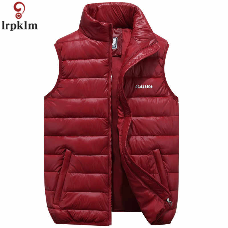 Hot Winter vest female vest Female Plus Size thermal Vests for women vest female 2019 sleeveless jacket Red Tops LZ803