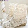 Hot sales women boots Summer Women Sandals Casual shoes Slip-On fashion flats shoes Sandal boots shoes woman big size 34-43