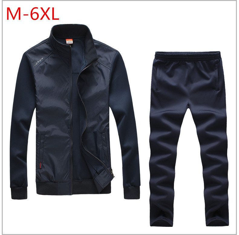 6XLThe spring and autumn period and the leisure suit hot new 2016 men coat pants Large