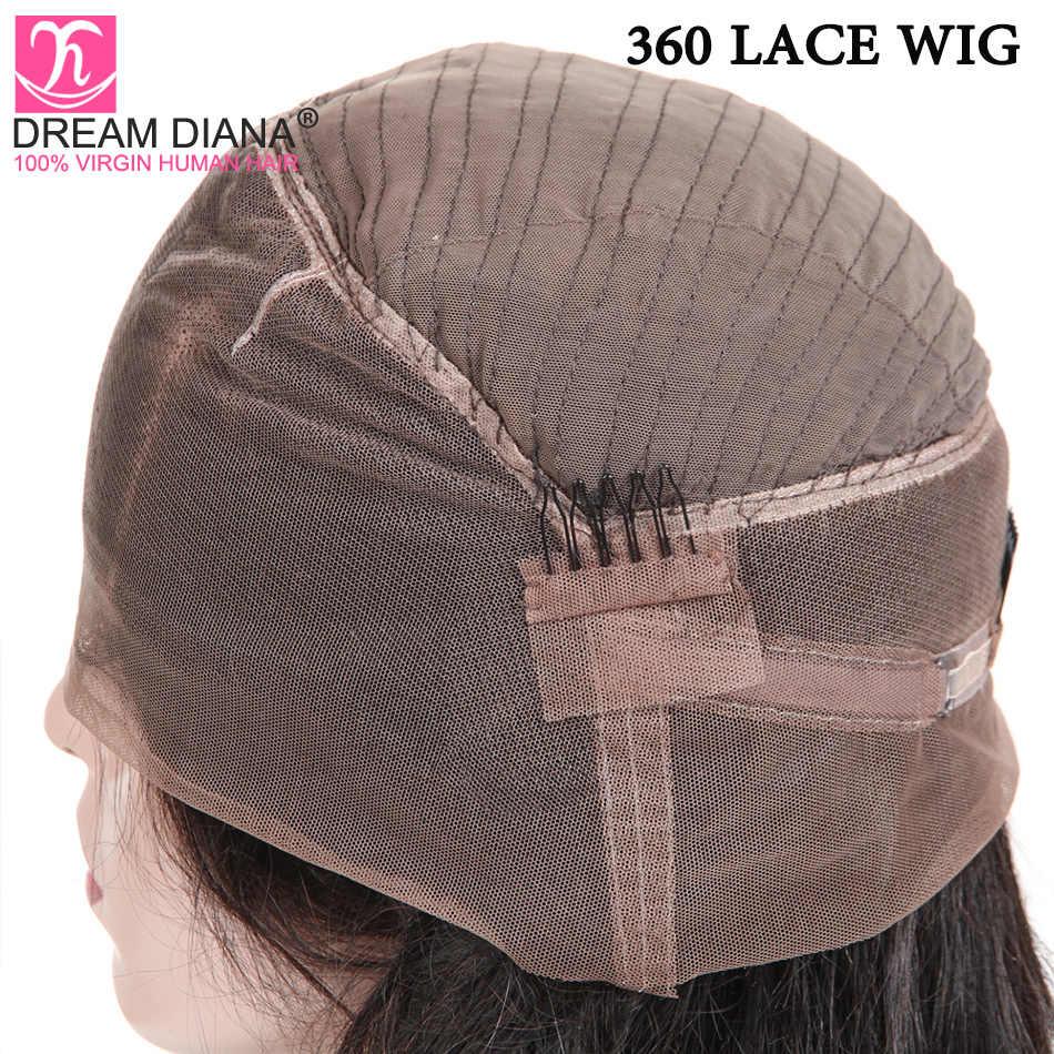 Sueño de la onda del cuerpo indio 360 Peluca de encaje Remy pelucas de encaje 360 pelucas de cabello humano que es sin costuras 150 densidad 3-5 días de entrega Express