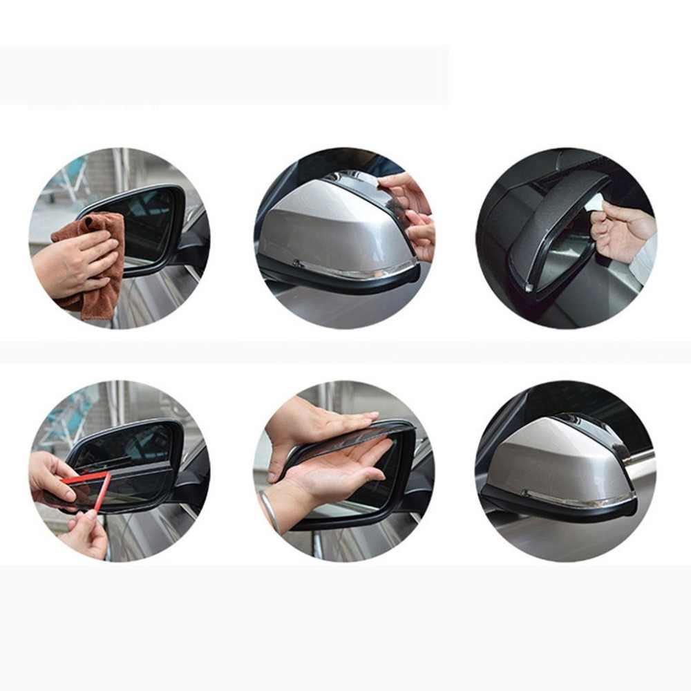 NewAutomotive Auto Rückspiegel Regen Schutz Spiegel Regen Augenbraue Rückspiegel Visier Schatten